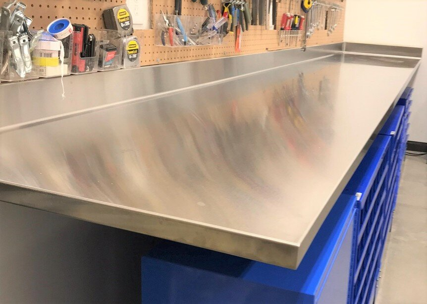 Custom Commercial Stainless Steel Countertops Get A Quote